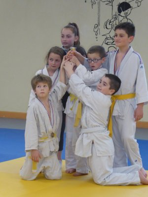 Le judo club en animation