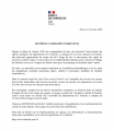 Interdiction emploi du feu