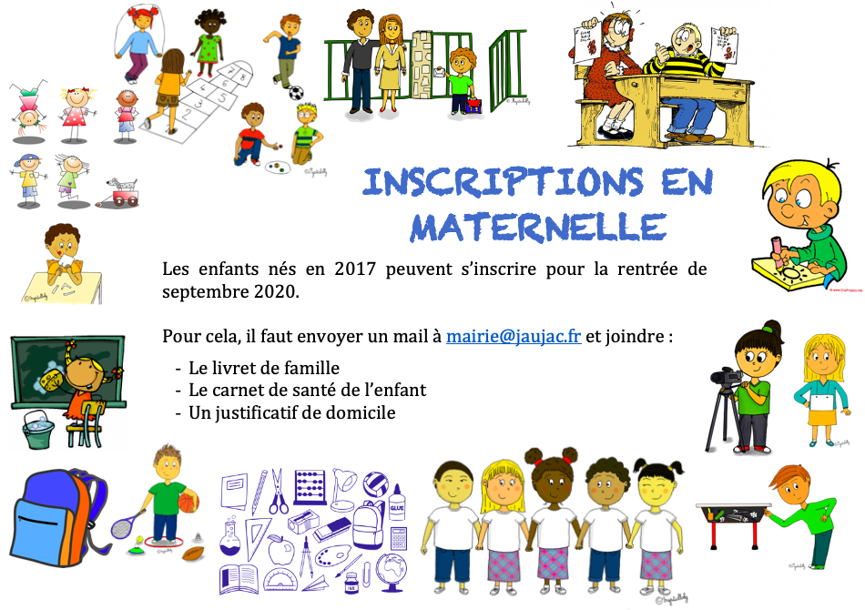 Inscription en maternelle